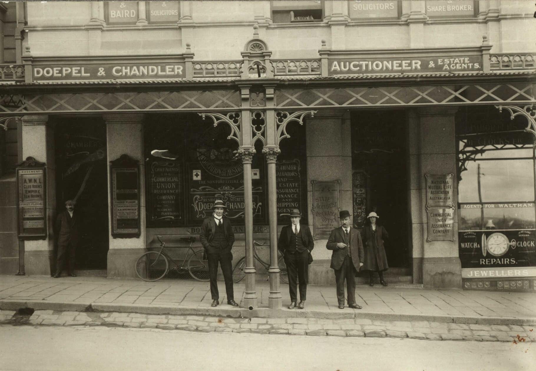 Doepel & Chandler, 2 Lydiard St Sth, Ballarat