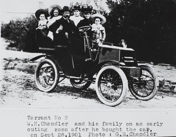 W H Chandler & Family, 1901