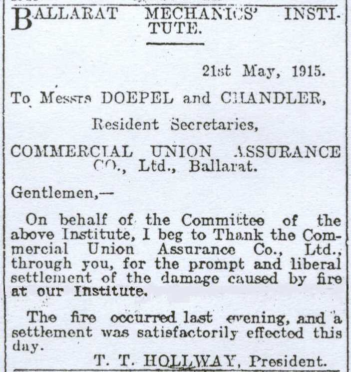 The Courier, May 22, 1915